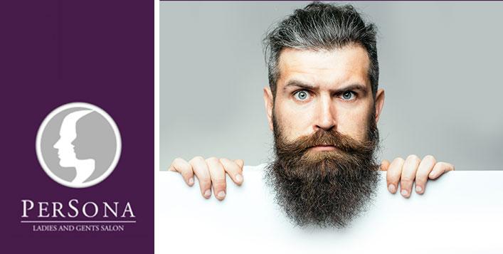 Haircut, beard shave, face masks & more