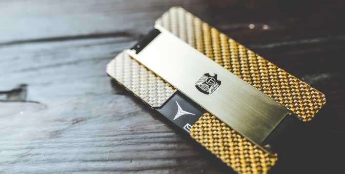 Sleek, safe and durable card holder