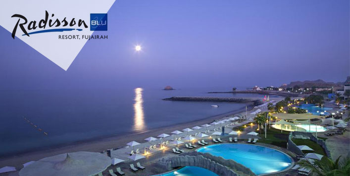 5*Fujairah Stay with Meals for 1 or 2 Nights