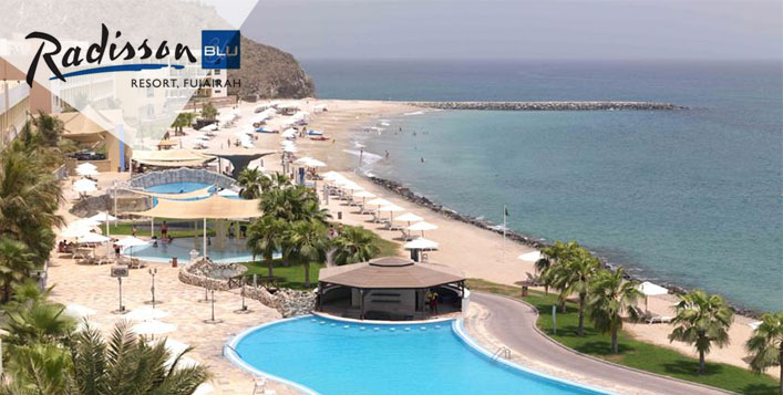 5* Radisson Blu, Fujairah All Inclusive Stay