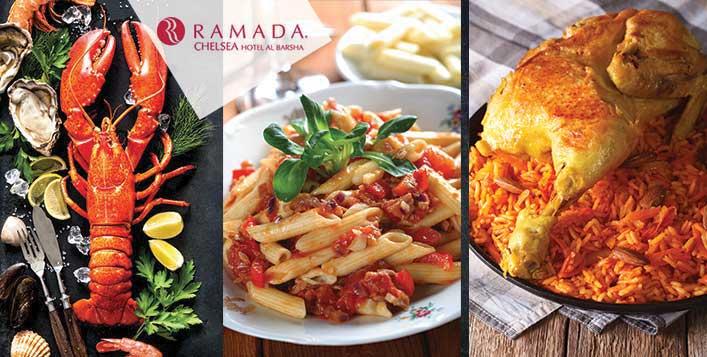 Italian, Seafood, Latin American or Oriental