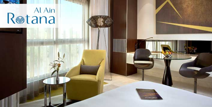 Al Ain Rotana Weekend or Weekday Family Stay