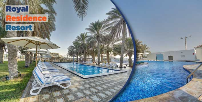 UAQ Villa Stay + Dreamland Aquapark Tickets