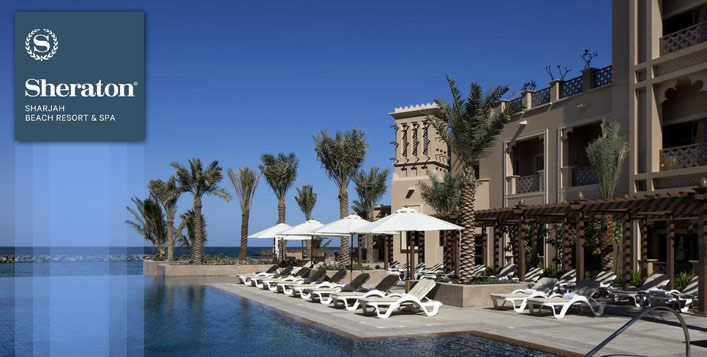 For two - Sheraton Sharjah Beach Resort & Spa