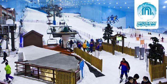 Unlimited access to Ski Dubai with Polar Pass