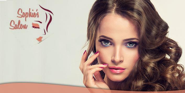 Brazilian keratin treatment + another service