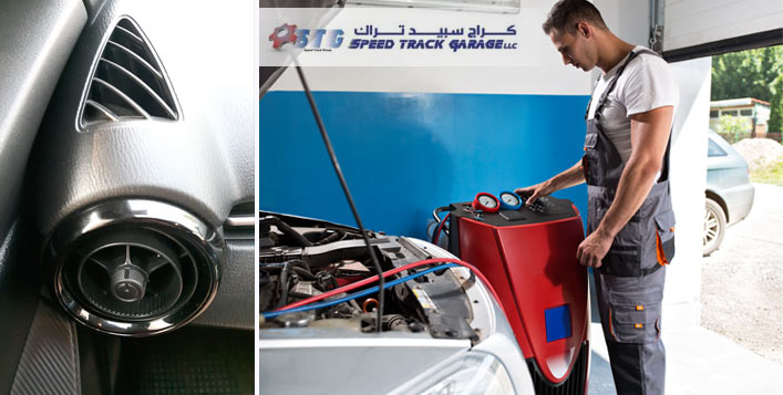 Car AC Check Up & Gas Top Up for AED 80