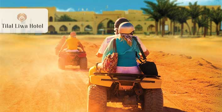 1 or 2 night stay, breakfast + quad bike