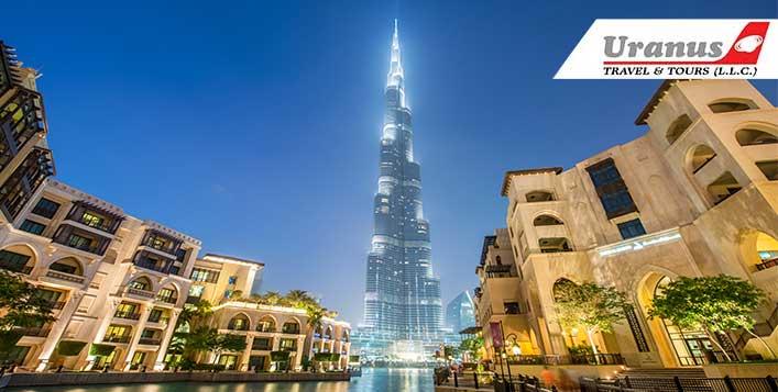 Explore Dubai with Uranus Travel & Tours