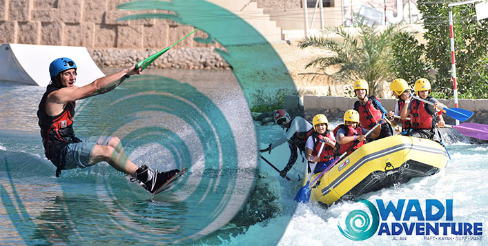 EIDventure at Wadi Adventure with the Kids