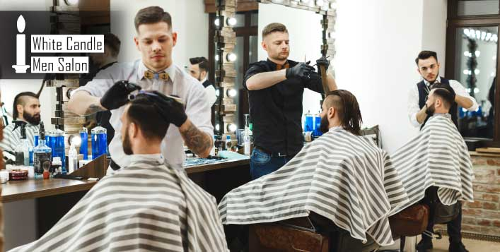 Men's Grooming Packages White Candle Salon