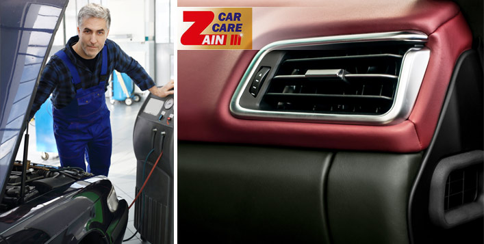 Zain Car Care Full AC Servicing + Check Up